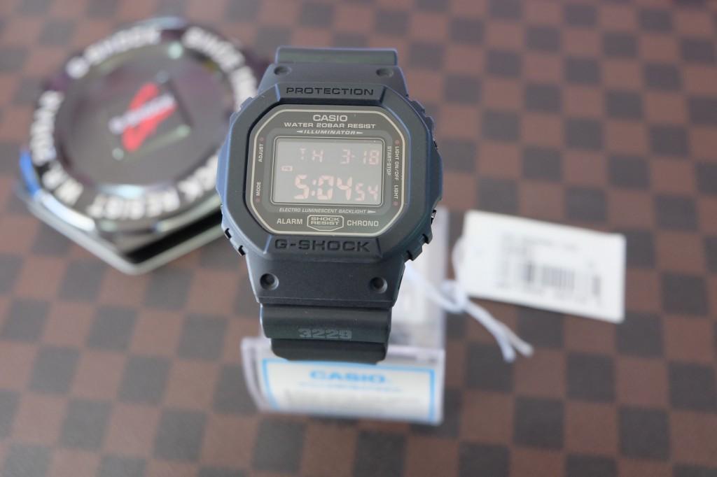 [G-Shock] DW 5600MS - 1 : ราคา 2,990