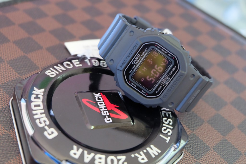 [G-Shock] DW 5600MS - 1 : ราคา 2,990