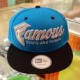 """[FAMOUS] Fast Break – TurquoiseSnapback สี: พื้นฟ้าลายดำ ราคา: 1,695.- ค่าส่ง: 50.- [EMS : 1-2 วันของถึงบ้านเลยครับ] รวม: 1,745.- Most Ocean! With TheFAMOUS """"Fast Break – Turquoise (Snapback)"""" :Price 1,695.- Coming […]"""