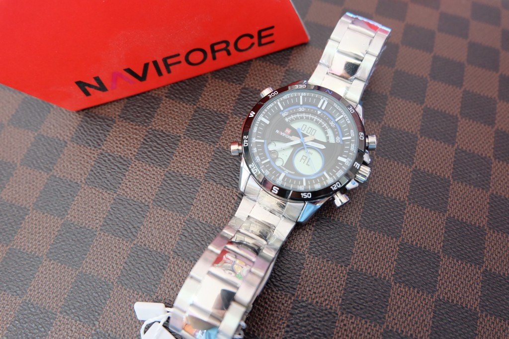 [NAVIFORCE] NF9031 - Silver/Black : ราคา 990