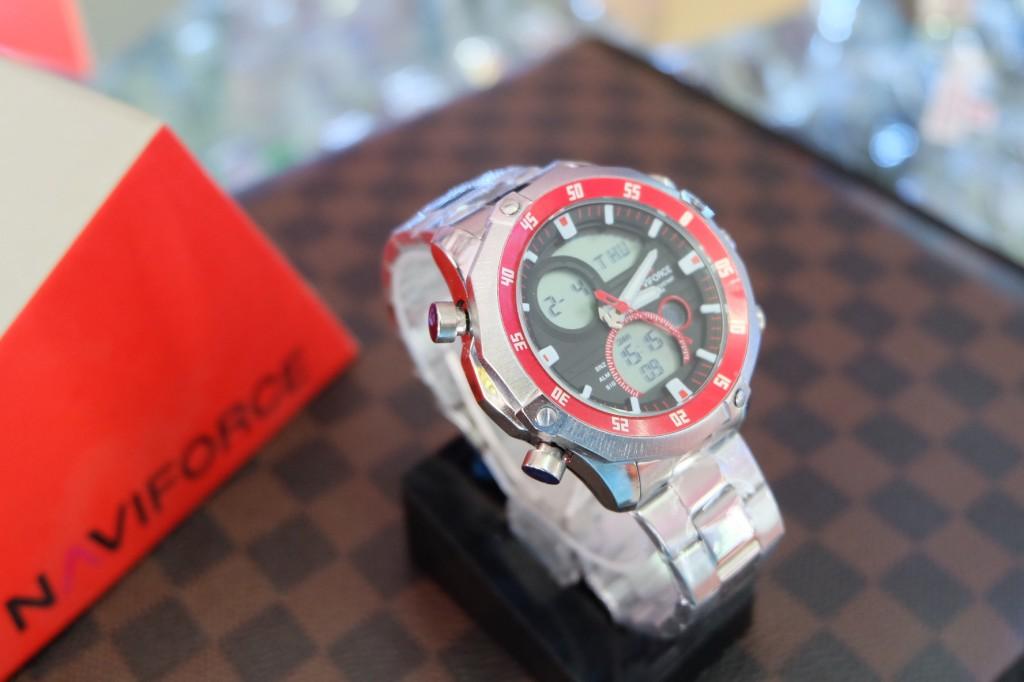 [NAVIFORCE] NF9030 - ฺSilver/Black/Red : ราคา 990