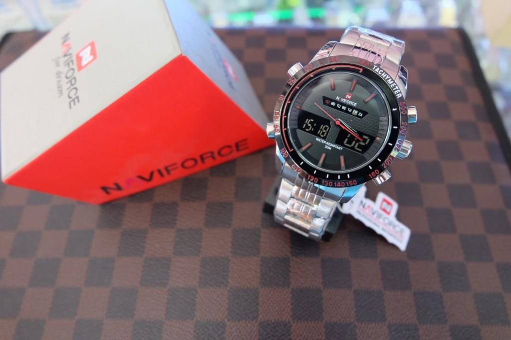 [NAVIFORCE] NF9024 - ฺSilver/Black/Red : ราคา 990