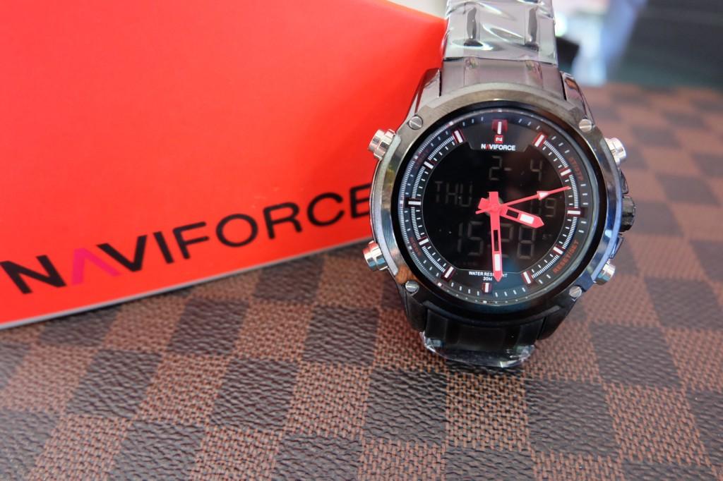 [NAVIFORCE] NF9050 - ฺSilver/Black/Red : ราคา 990