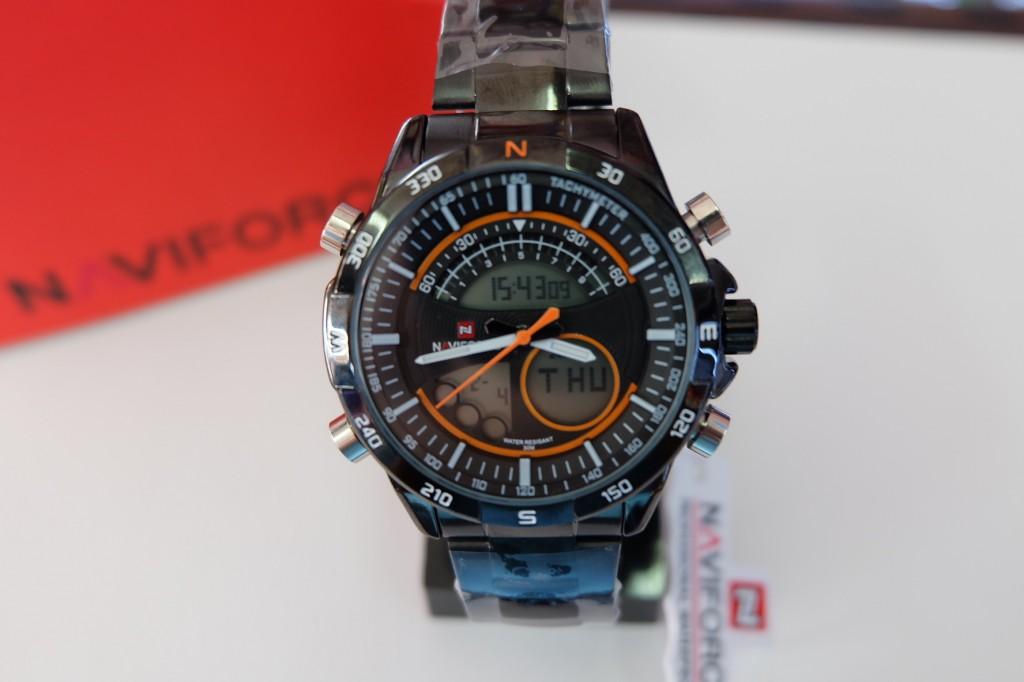 [NAVIFORCE] NF9031 - ฺBlack/Orange : ราคา 990
