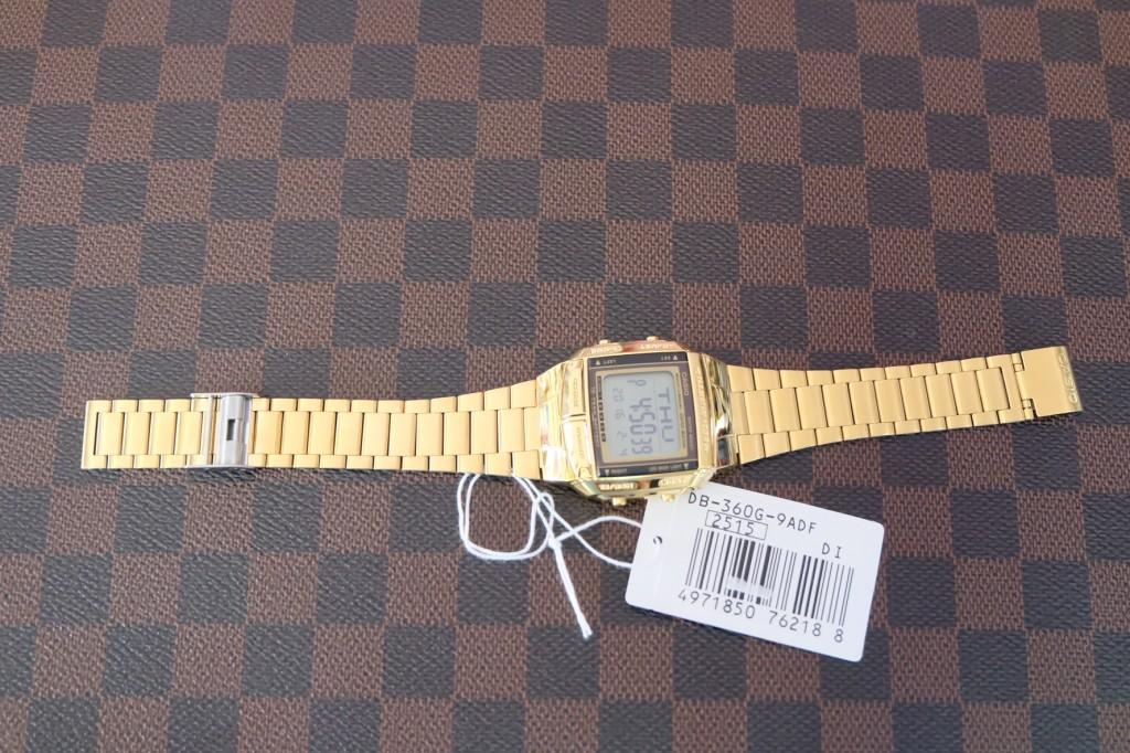[CASIO] DB-360G-9ADF - Gold/Black : ราคา 1,390