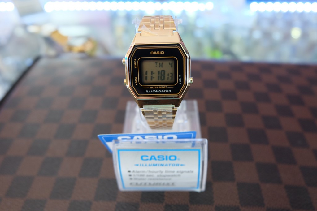 [CASIO] LA680WGA-1 - Gold : ราคา 1,790