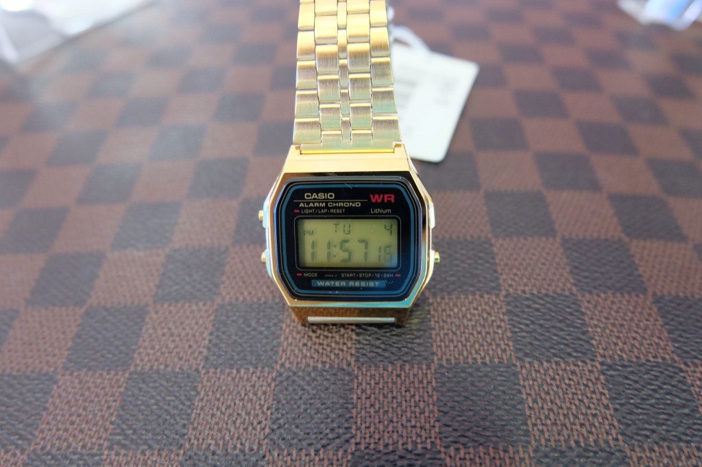 [CASIO] A159WGEA-1 : ราคา 1,590