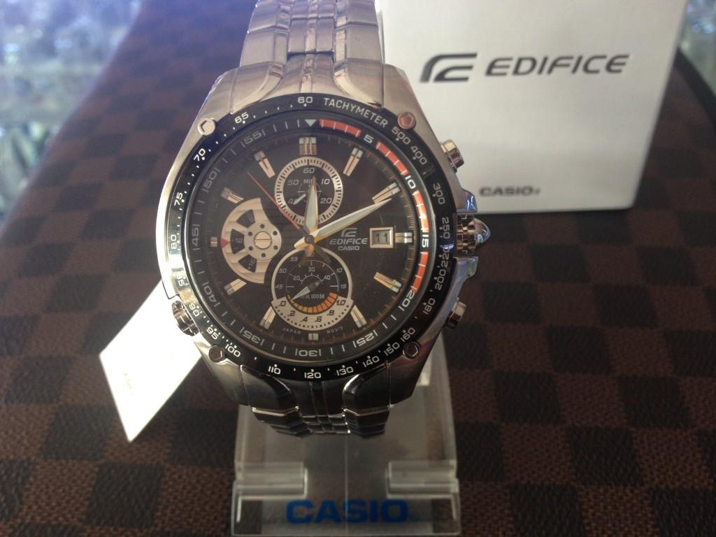 [EDIFICE] CASIO EDIFICE - EF 543D 1AVUDF : ราคา 4,900.-
