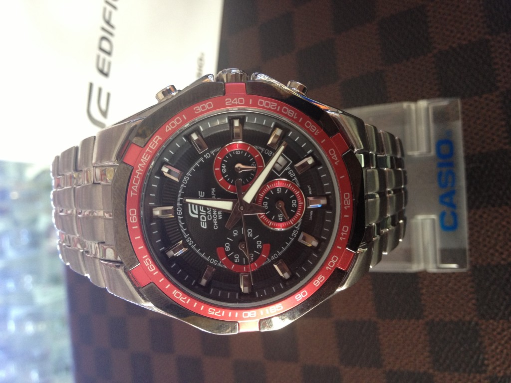 [EDIFICE] CASIO EDIFICE - EF 540D 1A4 : ราคา 3,190.-