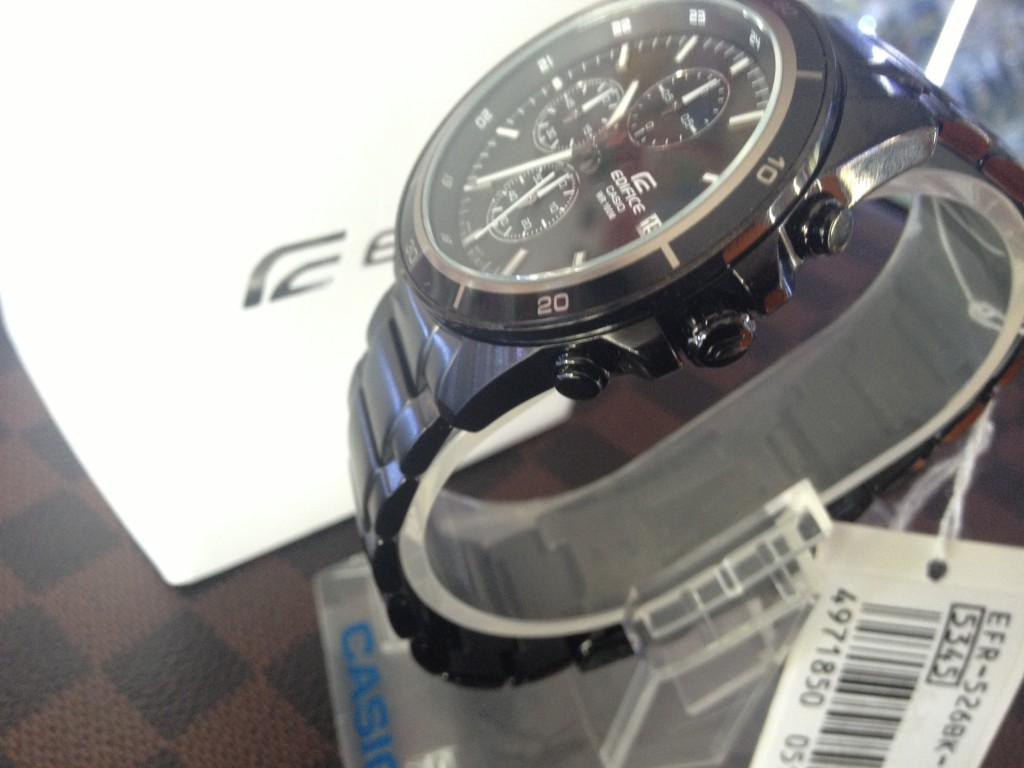 [EDIFICE] CASIO EDIFICE - EFR 526BK 1A1V : ราคา 3,790.-