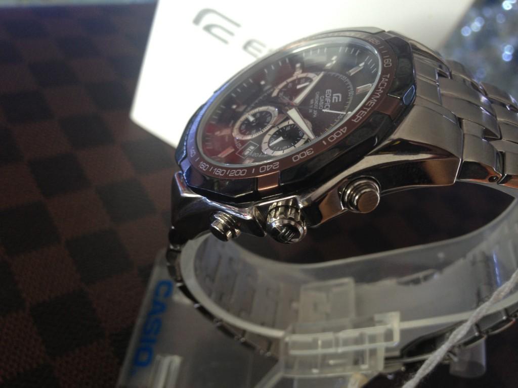 [EDIFICE] CASIO EDIFICE - EF 540D 5AV : ราคา 3,390.-