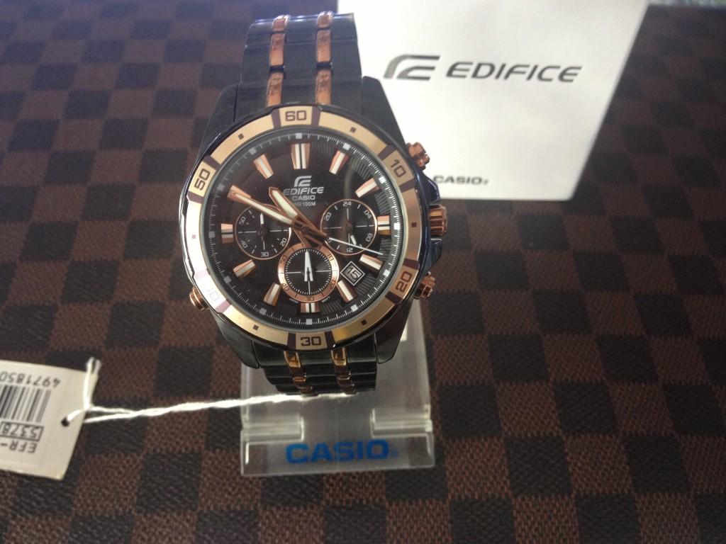 [EDIFICE] CASIO EDIFICE - EFR 534BKG 1A1VDF : ราคา 4,690.-