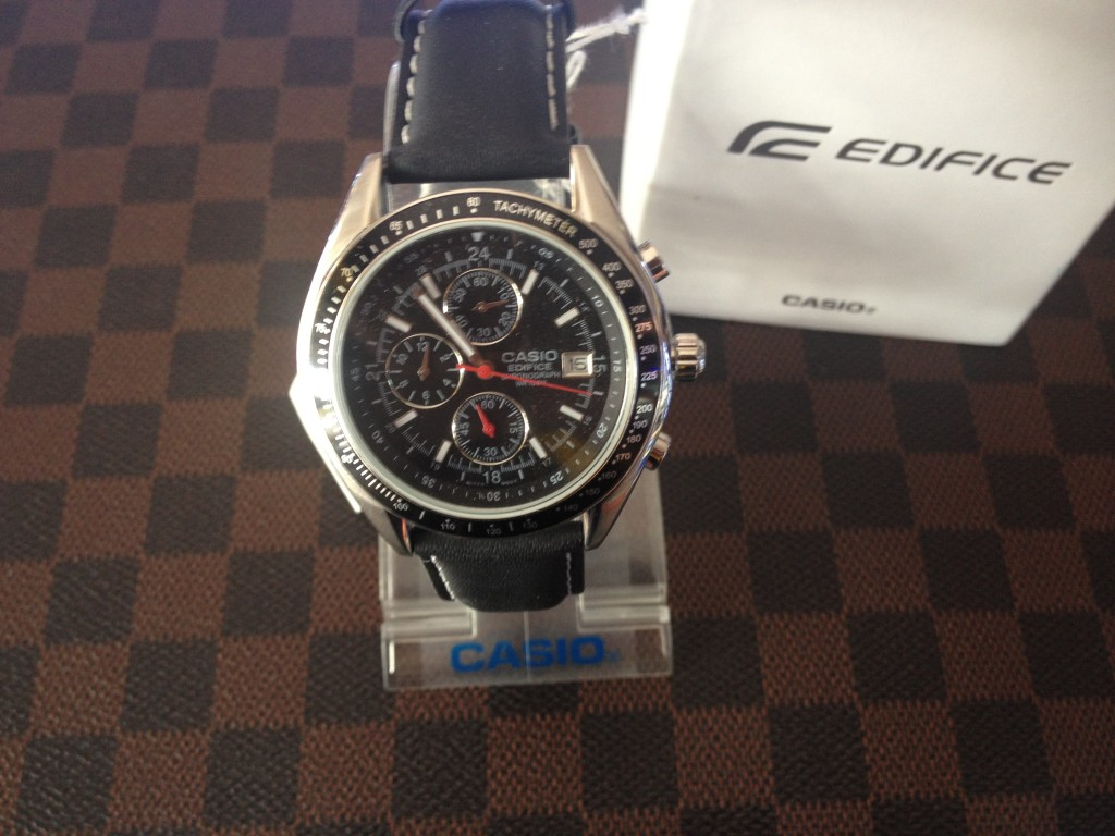 [EDIFICE] CASIO EDIFICE - EF 503L 1AVUDF : ราคา 2,890.-