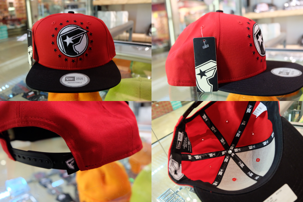 [FAMOUS] Action - Black/Red Snapback : ราคา 1,695.-