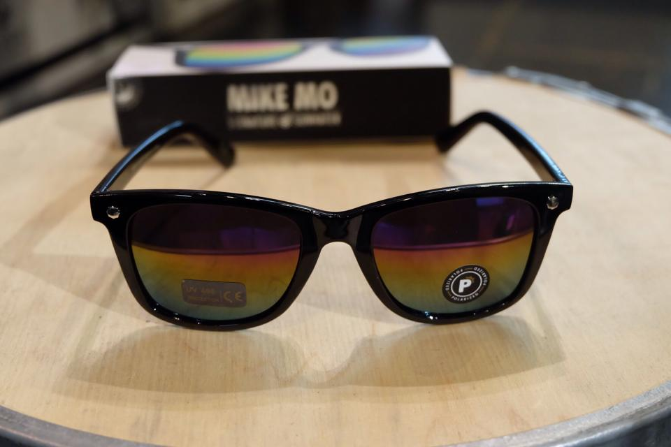 แว่นกันแดด Glassy | Glassy Mikemo Signature - BLACK/COLOR MIRROR POLARIZED : ราคา 1,390.-