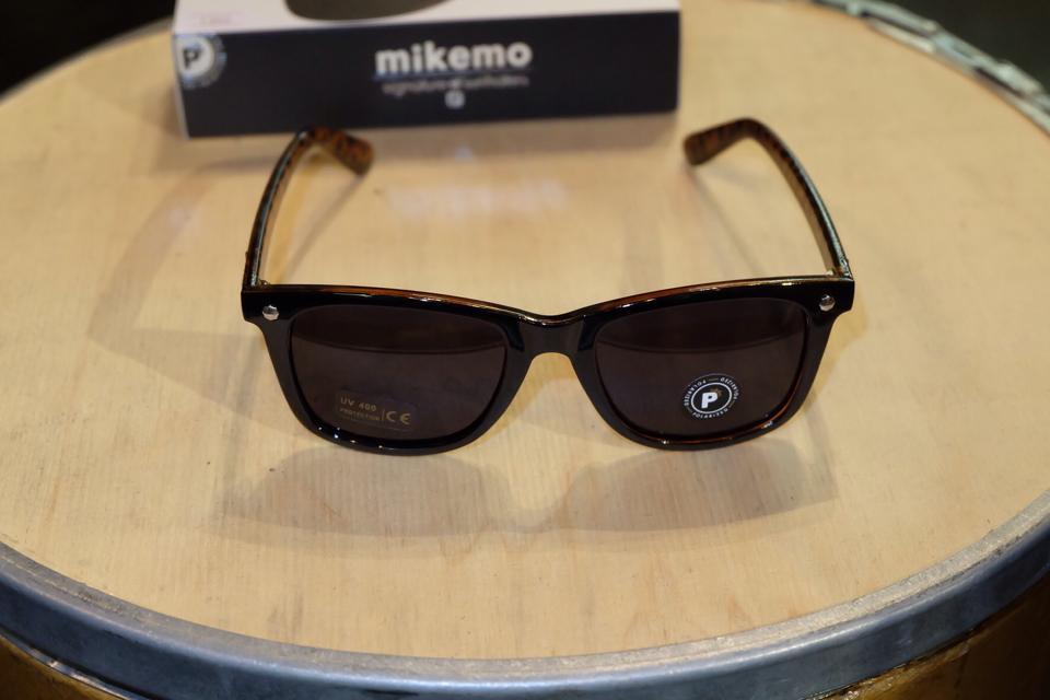แว่นกันแดด Glassy   Glassy Mikemo Signature - Black/Tortoise Polarized : ราคา 1,390.-