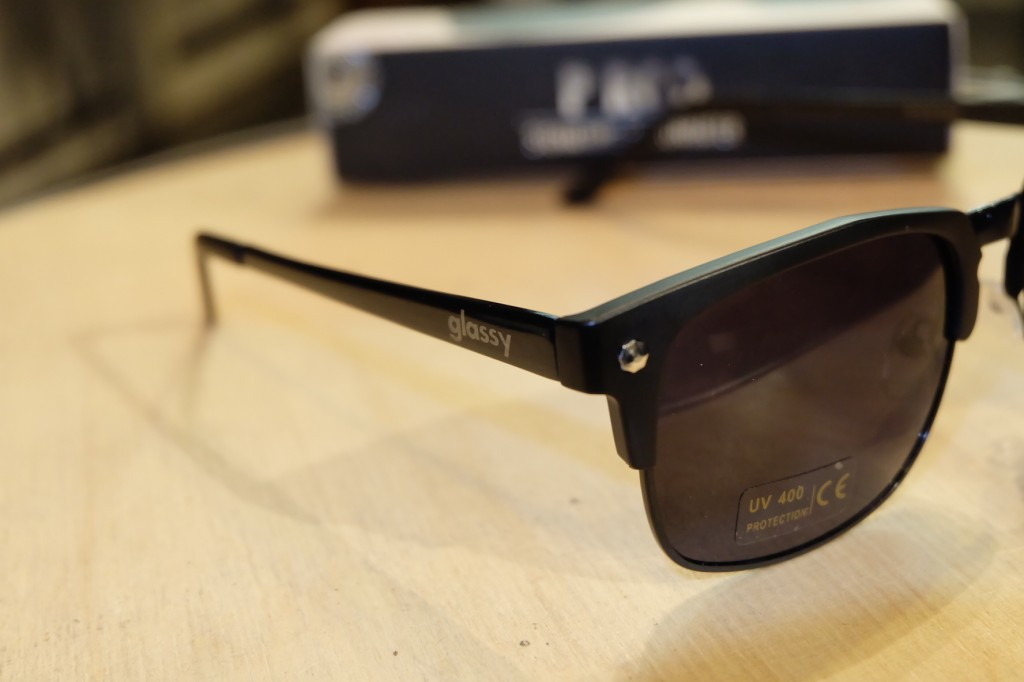 แว่นกันแดด Glassy | Glassy P-ROD Signature - MATTE BLACK POLARIZED : ราคา 1,390.-