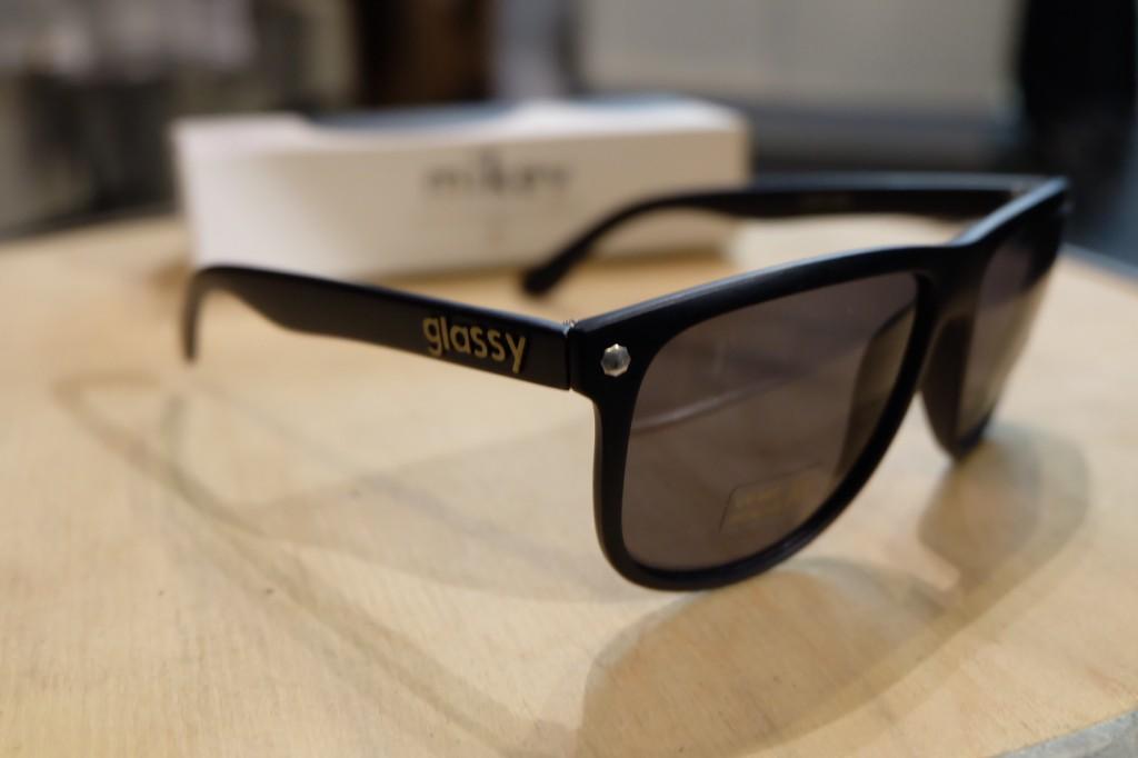 แว่นกันแดด Glassy | Glassy MIKEY Signature - MATTE BLACK POLARIZED : ราคา 1,390.-