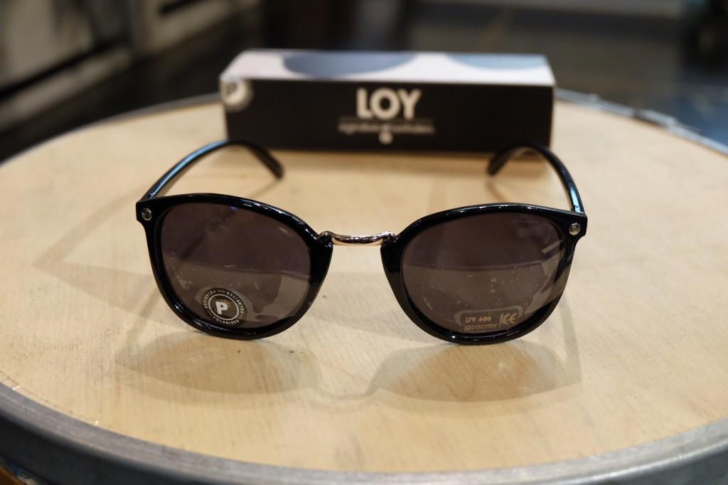 แว่นกันแดด Glassy | Glassy LOY Signature - BLACK POLARIZED : ราคา 1,390.-