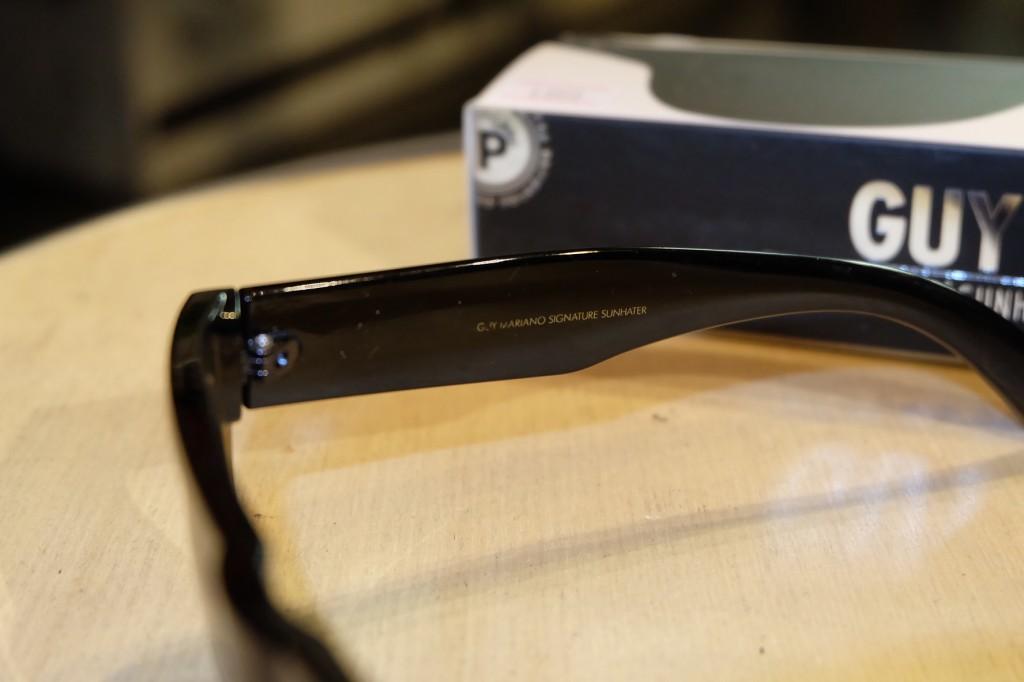 แว่นกันแดด Glassy   Glassy GUY Signature - BLACK POLARIZED : ราคา 1,390.-