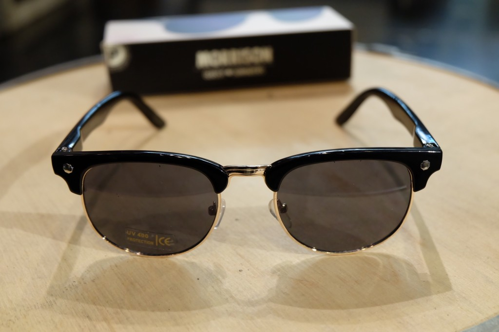 แว่นกันแดด Glassy | Glassy Morrison Signature - BLACK/Brown Lens : ราคา 1,390.-
