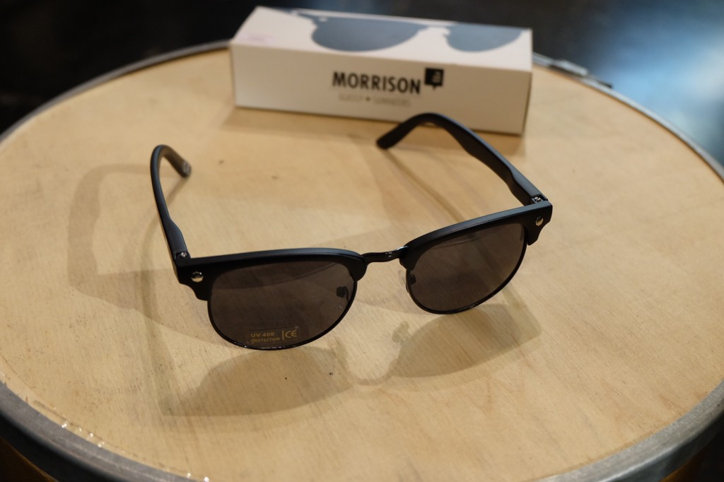แว่นกันแดด Glassy | Glassy Morrison Signature - THE BACK 40 (BLACK) : ราคา 1,190.-
