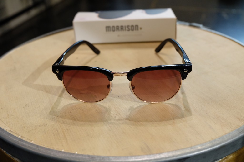 แว่นกันแดด Glassy | Glassy Morrison Signature - BLACK/BROWN LENS : ราคา 1,190.-