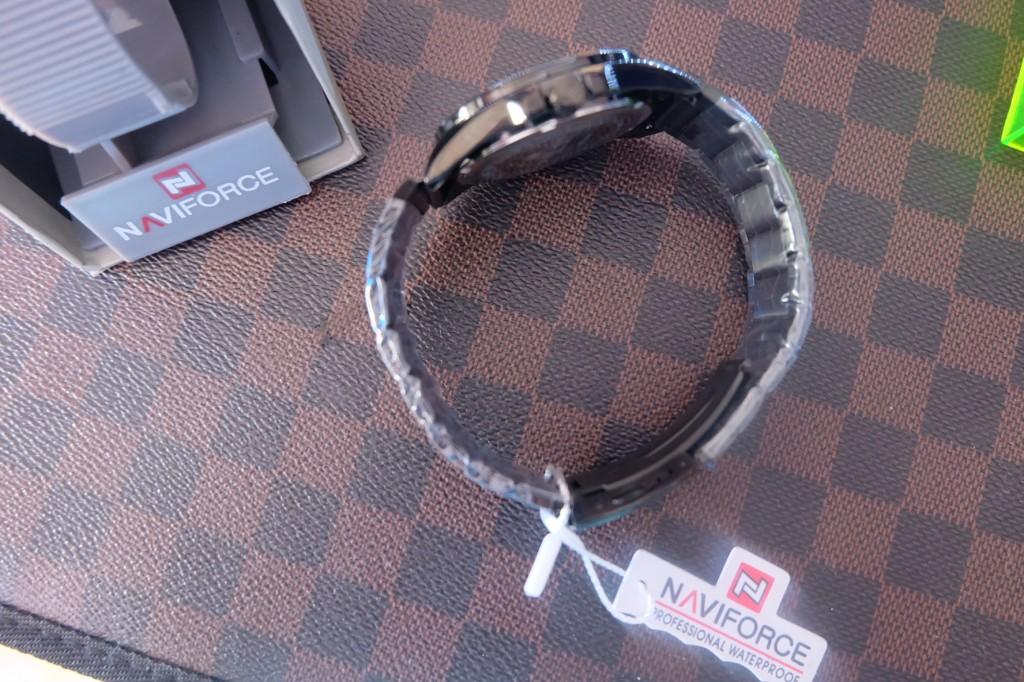 [NAVIFORCE] NF9034 - Black/Black/Gold : ราคา 990