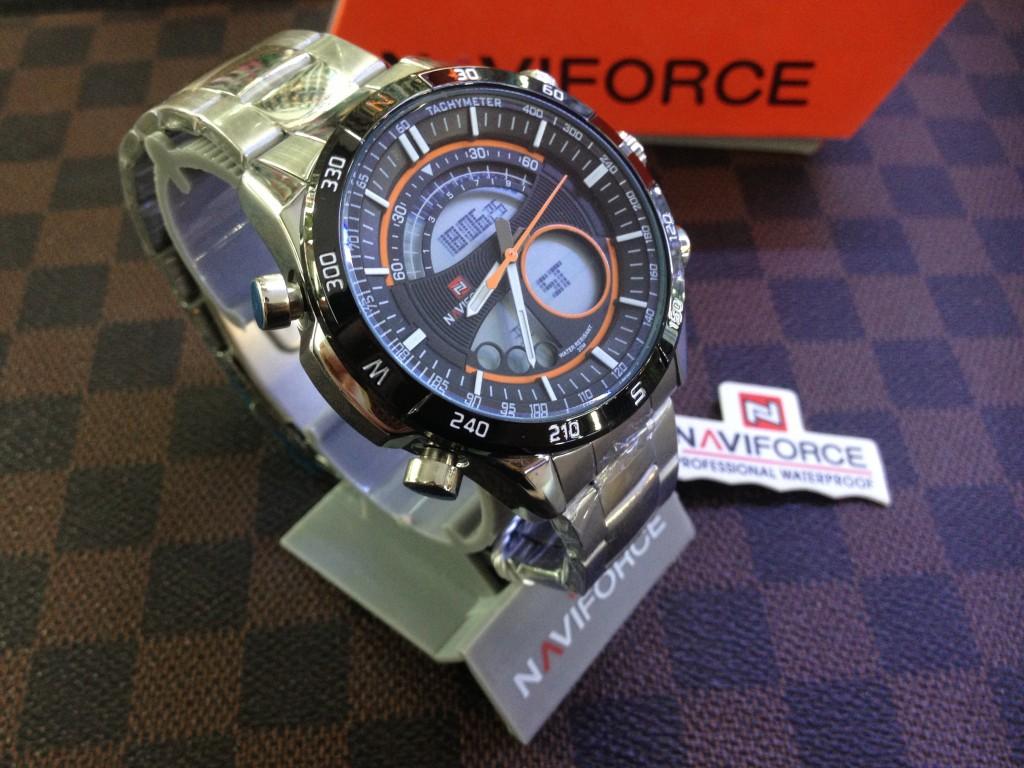 [NAVIFORCE] NF9031 – ฺSilver/Orange : ราคา 990