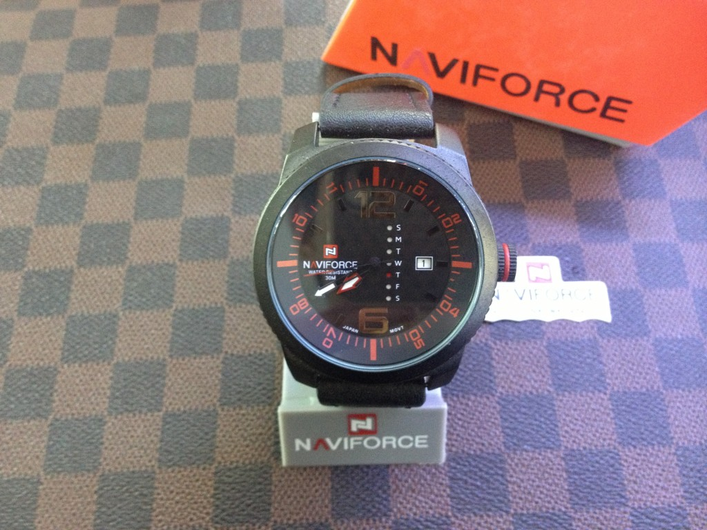 [NAVIFORCE] NF9062 - Black/Red : ราคา 790.-