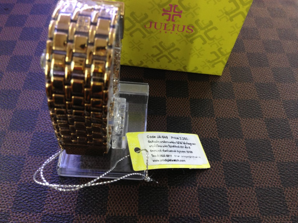 [Julius] JA-648 (Gold) : ลดเหลือ 1,720.-
