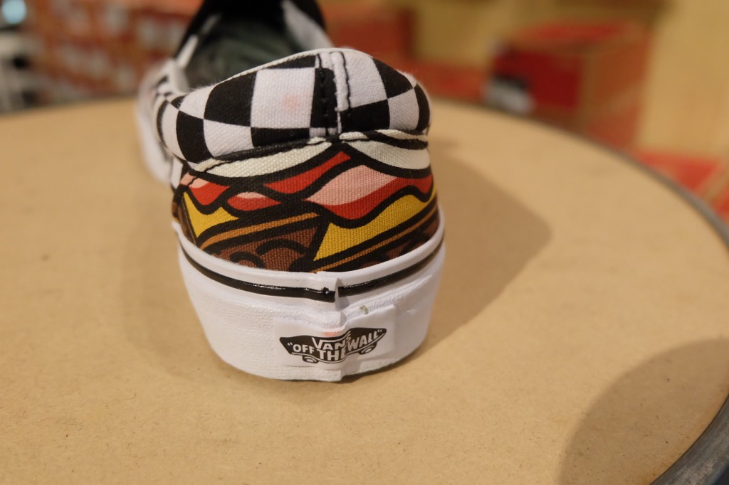 "VANS ""Classic Slip On - (Late Night) Burger/Check"" : Price 2,100.-"