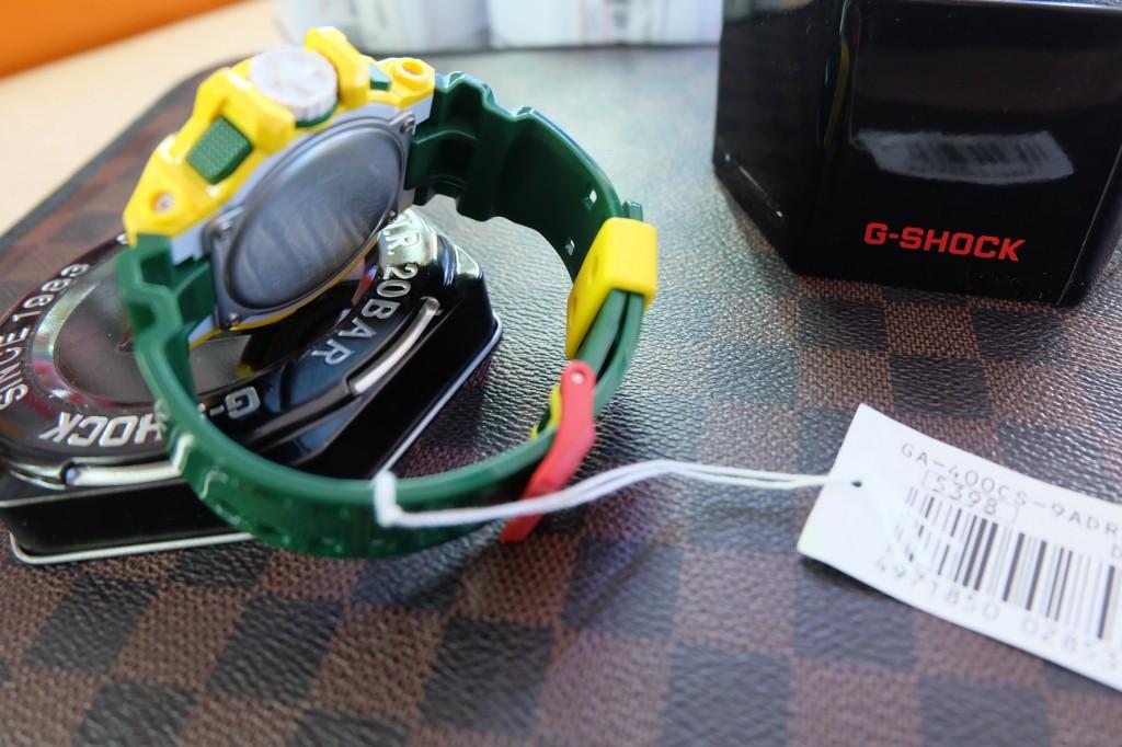 [G-Shock] GA 4000CS – 9A (Yellow/Green) ราคา : 4,090