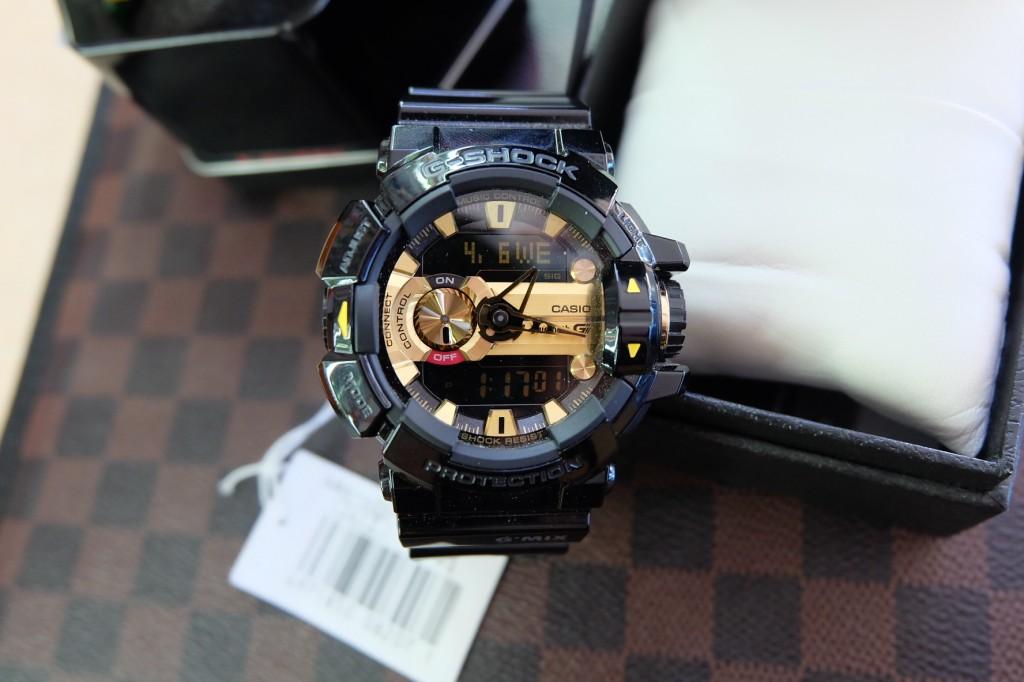[G-Shock] GBA 4000 – 1A9DR (Black/Gold) ราคา : 6,590.-