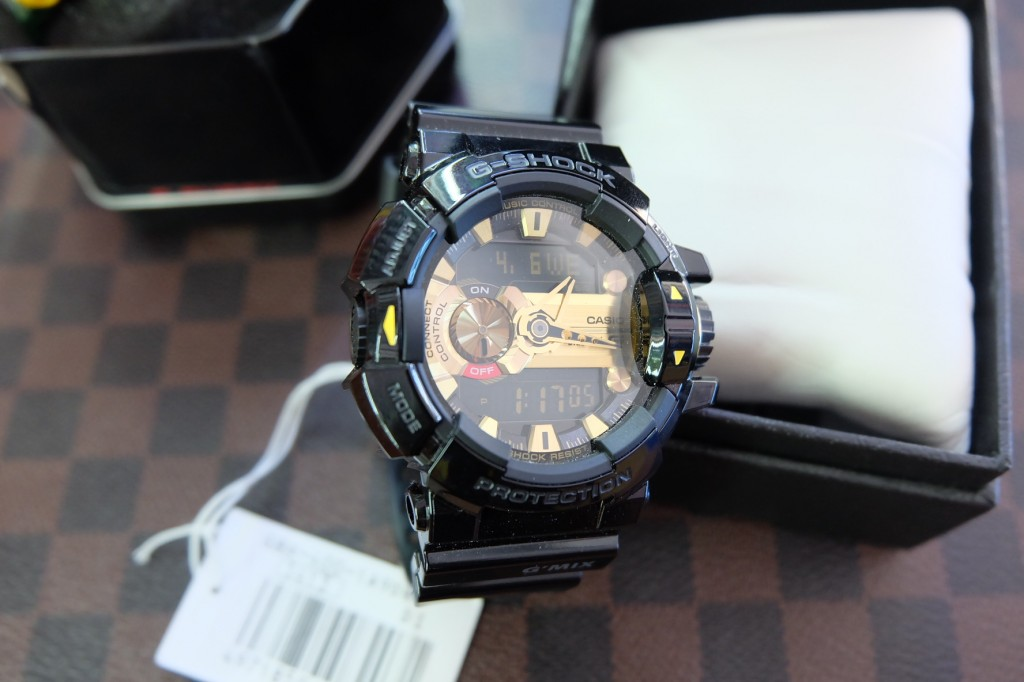 [G-Shock] GBA 4000 – 1A9DR (Black/Gold) ราคา : 6,590.-