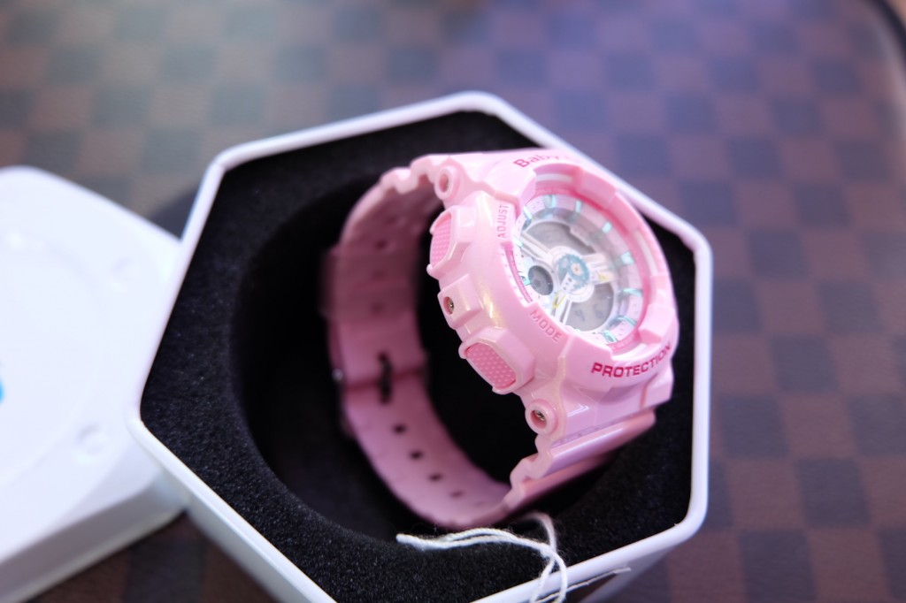 [BABY-G] BA 110CA – 4ADR (Pastel Pink) ราคา : 4,850.-
