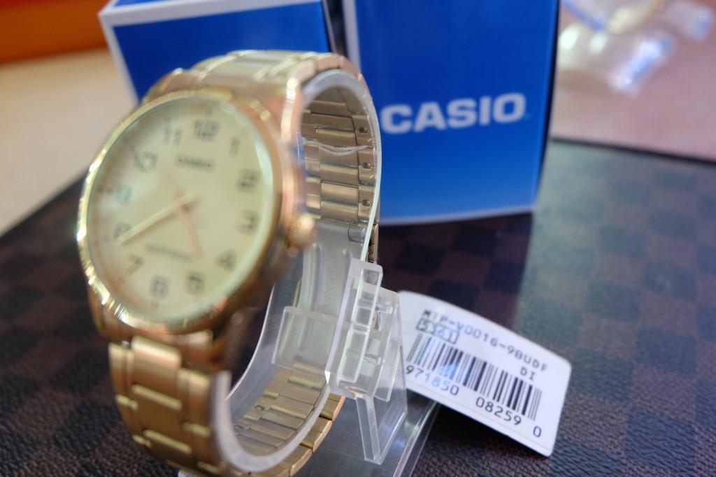 [CASIO] MTP V001G 9BUDF : ราคา 1,190.-