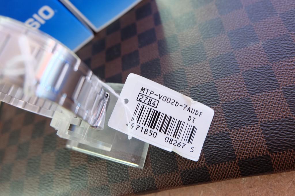 [CASIO] V002D 7AUDF : ราคา 1,350.-
