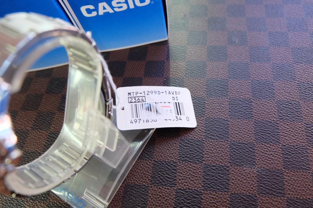 [CASIO] MTP 1299D 1AVDF : ราคา 1,950.-