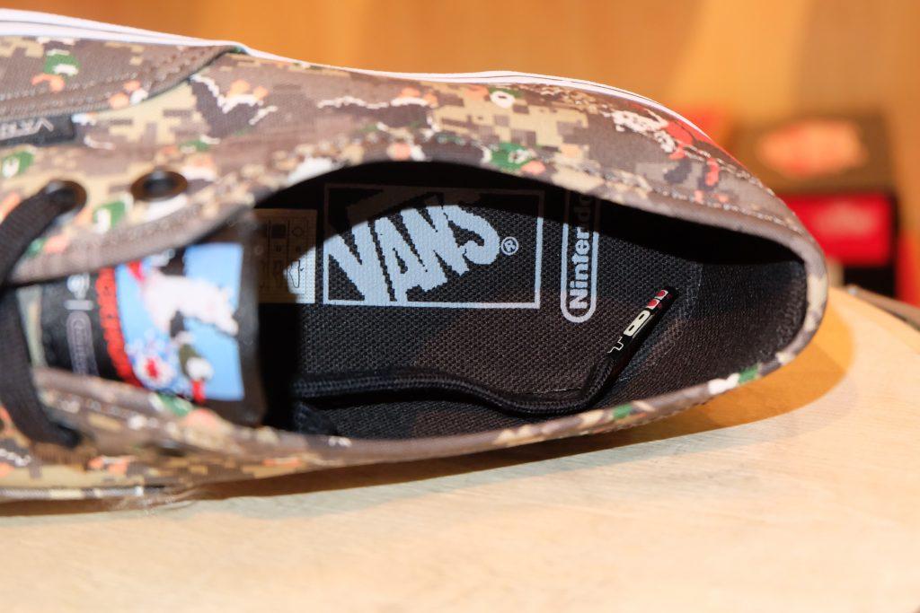 """VANS """"Authentic - (Nintendo) Duck Hunt/Camo"""" : Price 3,800.-"""