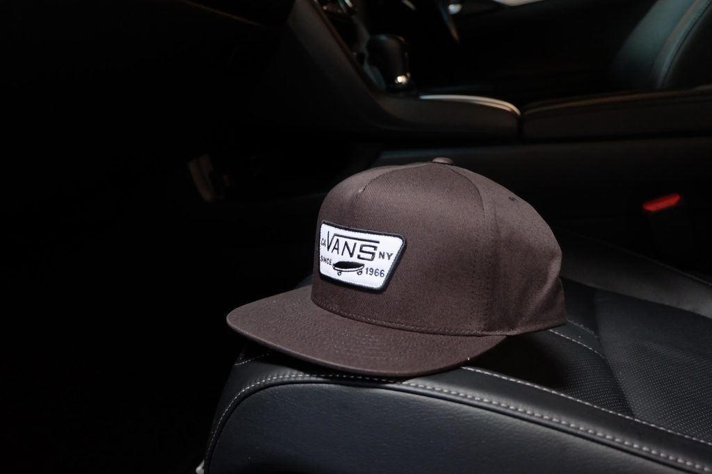 [VANS] Full Patch Snapback Cap - Black/White : Price 1,250.-