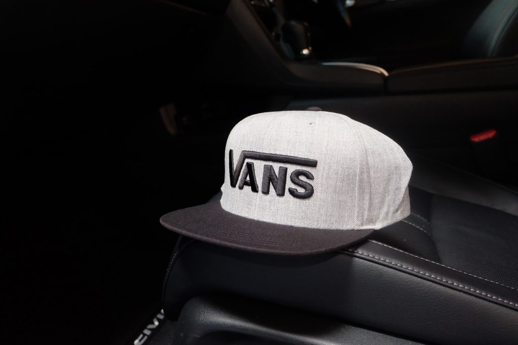 [VANS] Drop V Snapback Cap - Heather Grey : Price 1,250.-