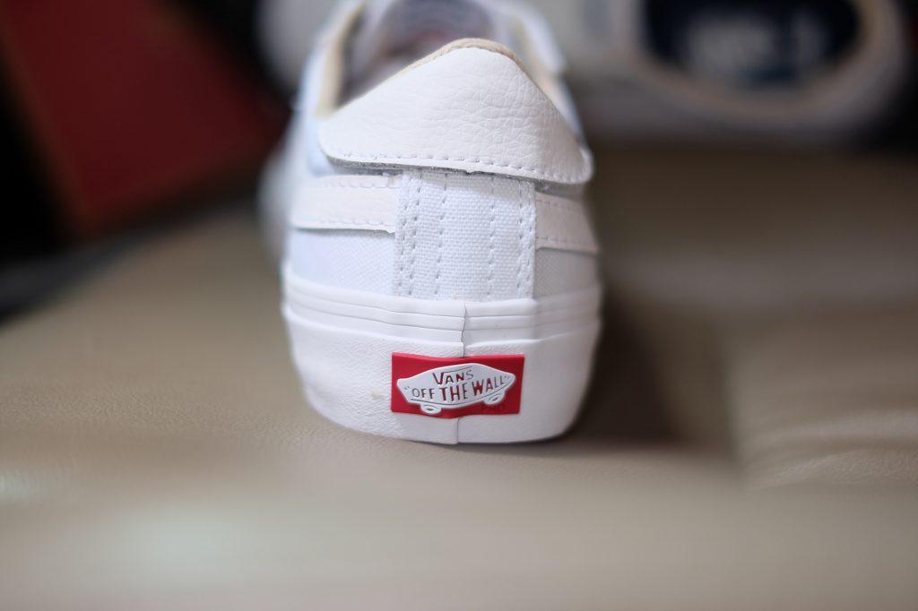 """VANS """"Style 112 PRO - White/White"""" : Price 3,200.-"""