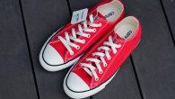 """Converse: All Star Ox – Red สี : พื้นแดงลายขาว ราคา : 1,650.- ค่าส่ง : 100.- [EMS : 1-2 วันของถึงหน้าบ้านเลยครับ] รวม :1,750.- Most 60's! With The Converse """"All Star Ox […]"""
