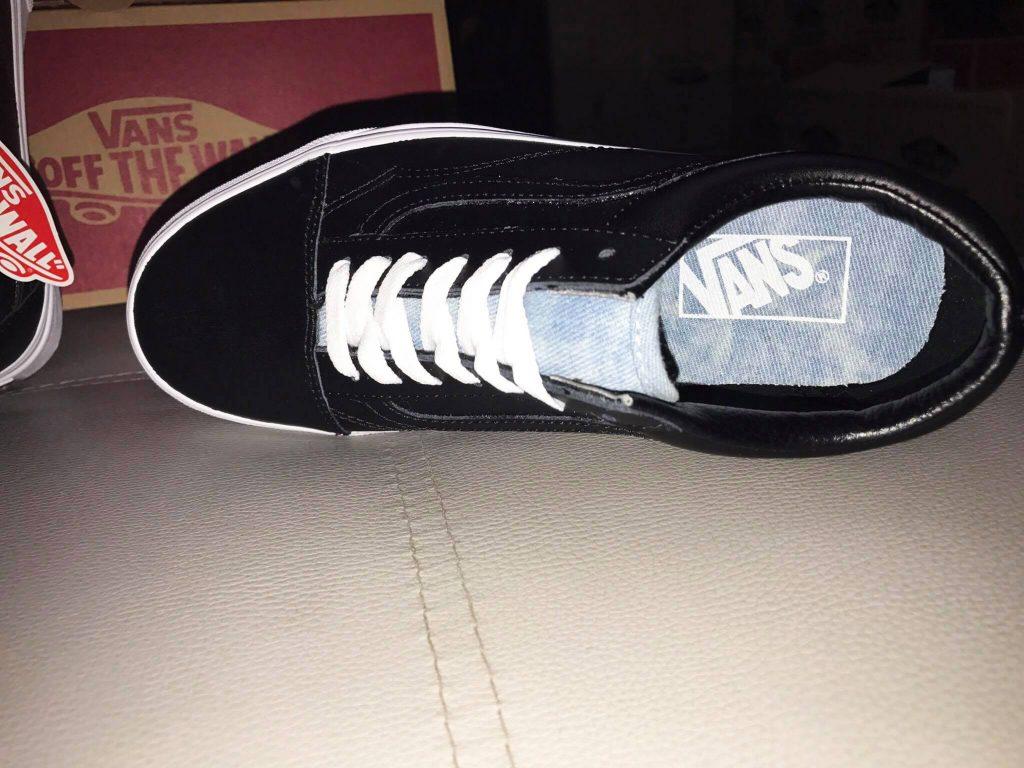 VANS Old Skool (Leather Denim) - Black/Denim : Price 3,600.-