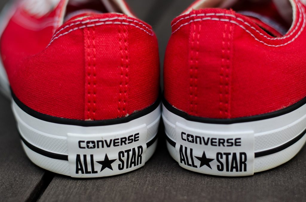 Converse All Star Ox - Red  : Price 1,650.-