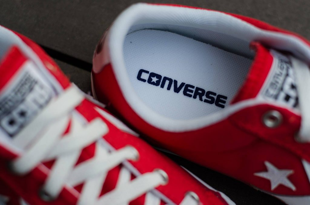 Converse Star Player Ox - Red : Price 1,800.-