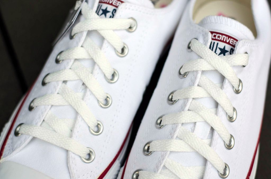 Converse All Star Ox - White : Price 1,650.-