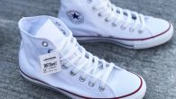 "Converse: All Star Hi – White (Classic) สี : พื้นขาวลายขาว ราคา : 1,750.- ค่าส่ง : 100.- [EMS : 1-2 วันของถึงหน้าบ้านเลยครับ] รวม :1,850.- Most Vintage! With The Converse ""All Star […]"