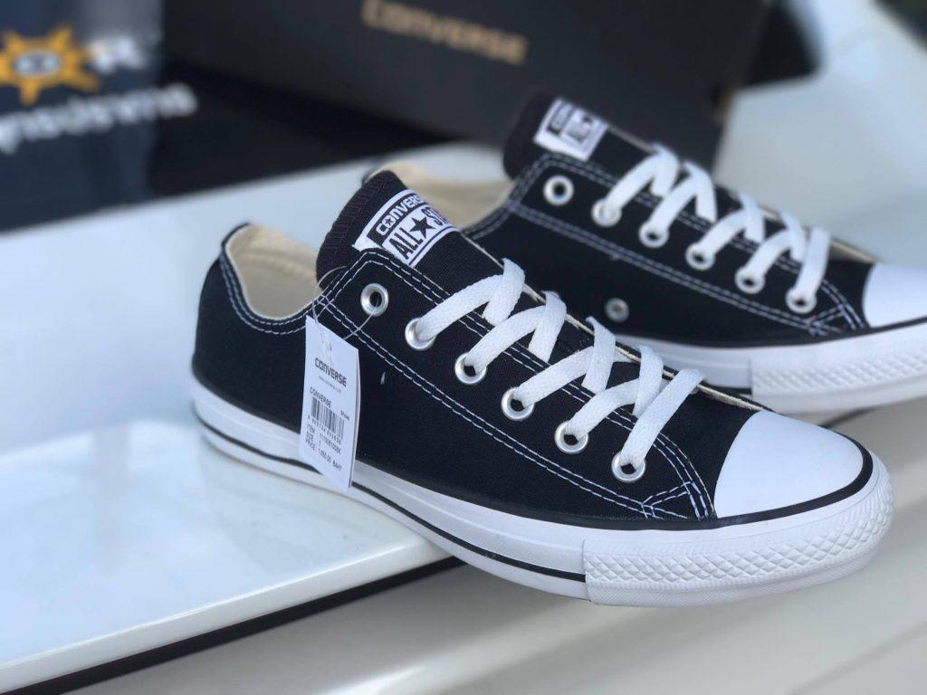 Converse All Star Ox - Black : Price 1,650.-